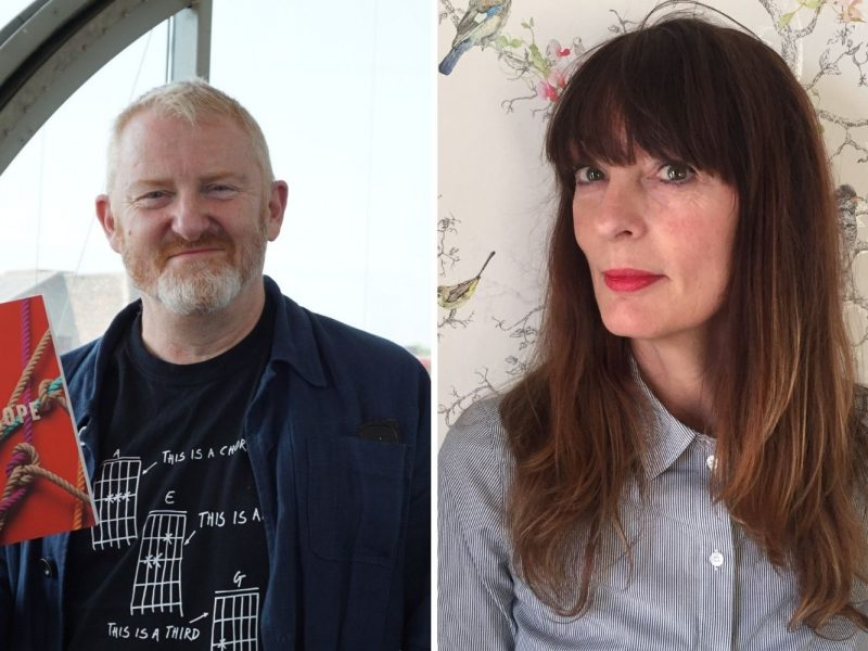 An image of Mark Robinson and Alison Clark